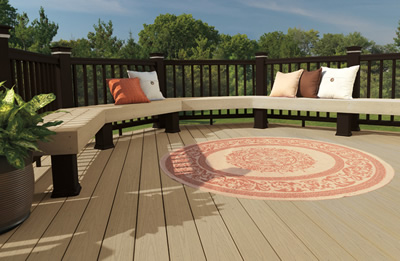 decking by catalina